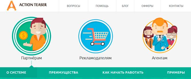 ActionTeaser.ru отзывы